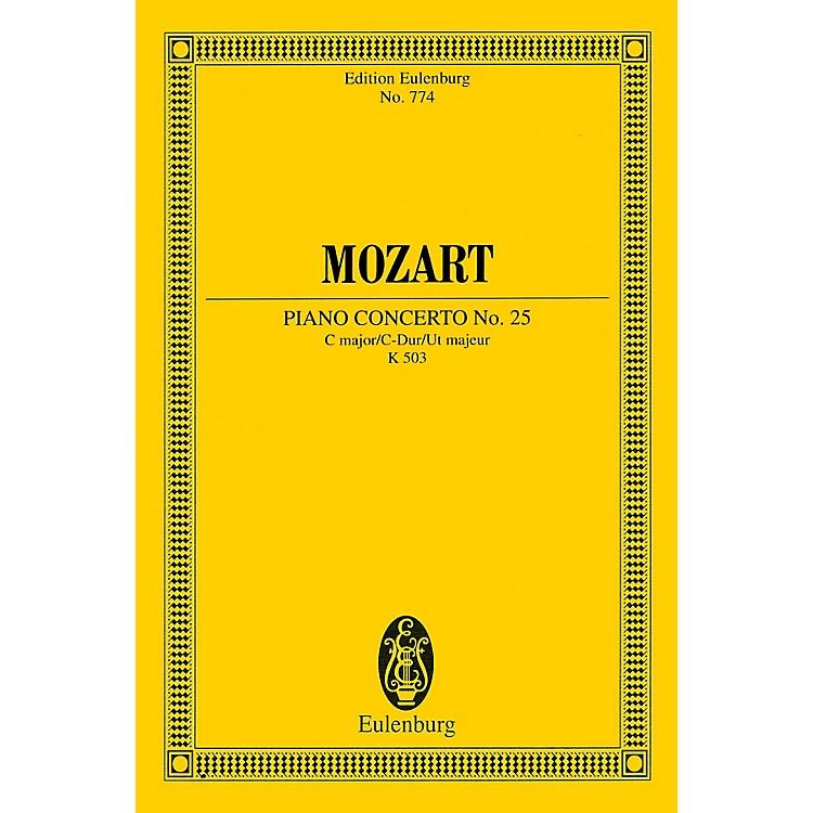 EulenburgPiano Concerto No. 25 in C Major, K. 503 Schott by Mozart Arranged by Friedrich Blume