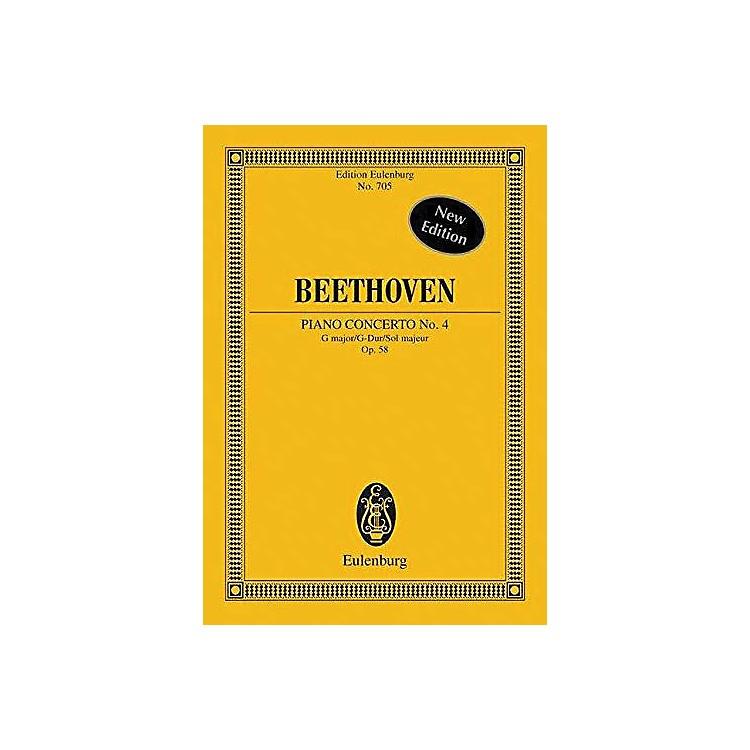 EulenburgPiano Concerto No. 4, Op. 58 in G Major Schott Series