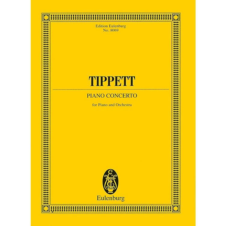 EulenburgPiano Concerto (Study Score) Study Score Series Composed by Michael Tippett