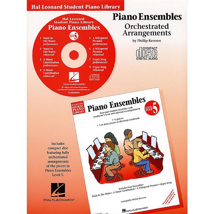 Hal LeonardPiano Ensembles - Level 5 - CD (Hal Leonard Student Piano Library) Piano Library Series CD