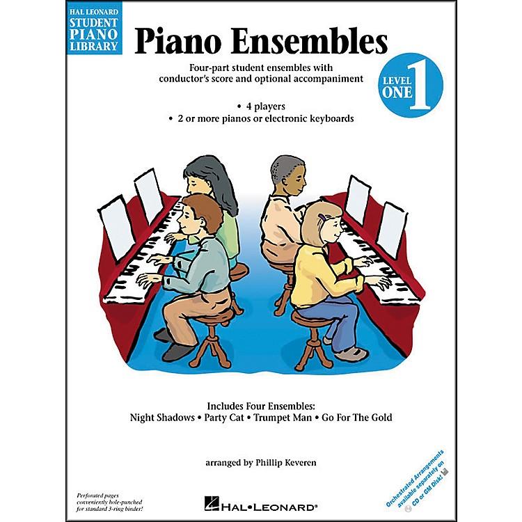 Hal LeonardPiano Ensembles Book 1 Hal Leonard Student Piano Library