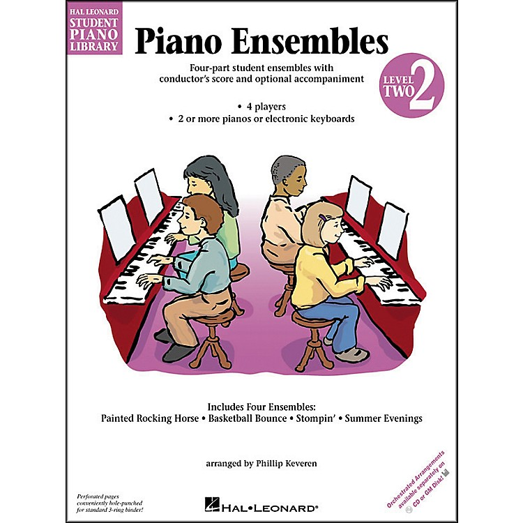 Hal LeonardPiano Ensembles Book 2 Hal Leonard Student Piano Library