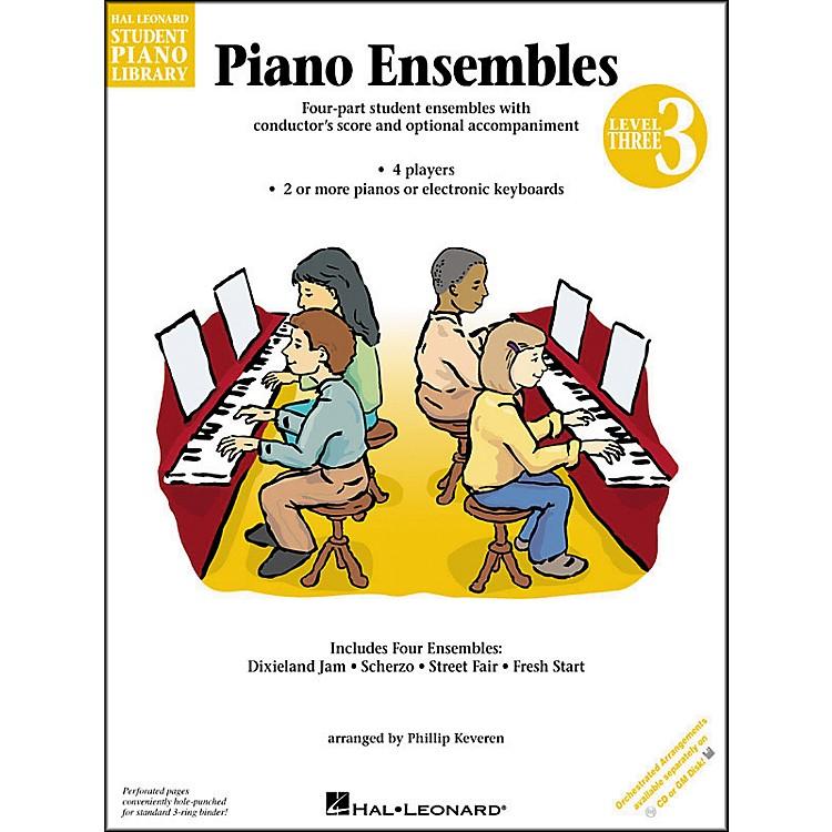 Hal LeonardPiano Ensembles Book 3 Hal Leonard Student Piano Library by Phillip Keveren