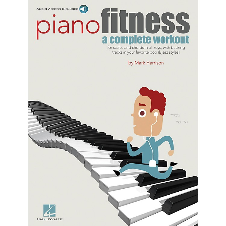 Hal LeonardPiano Fitness (A Complete Workout) Keyboard Instruction Series Softcover Audio Online by Mark Harrison