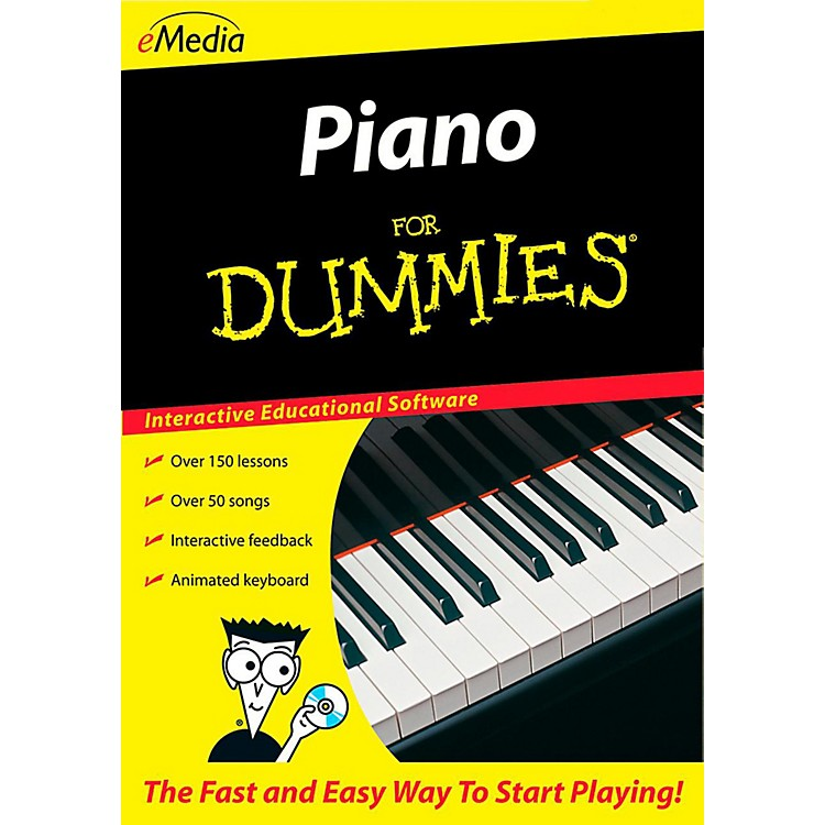 Emedia Piano For Dummies - Digital Download Windows Version