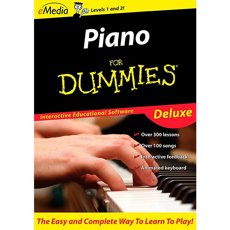 Emedia Piano For Dummies Deluxe - Digital Download Macintosh Version