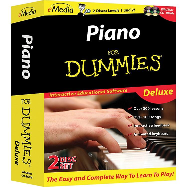 EmediaPiano For Dummies Deluxe 2-CD-ROM Set