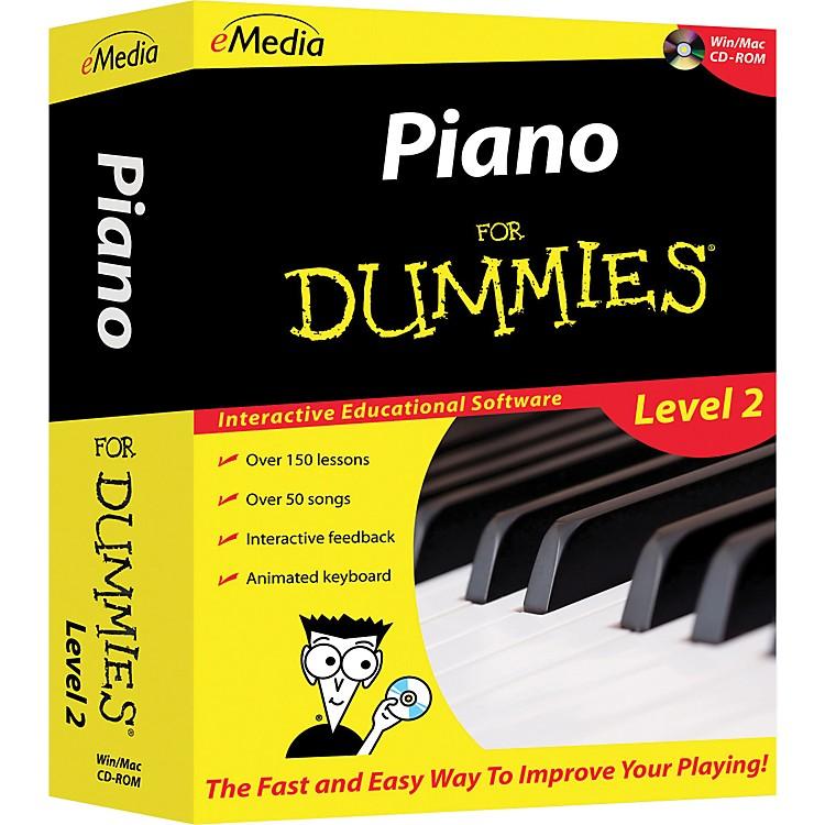EmediaPiano For Dummies Level 2 - CD-ROM