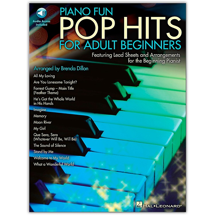Hal Leonard Piano Fun - Pop Hits For Adult Beginners (Book/Online Audio)