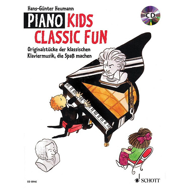 SchottPiano Kids - Classic Fun (With a CD of Performances) Schott Series Softcover with CD