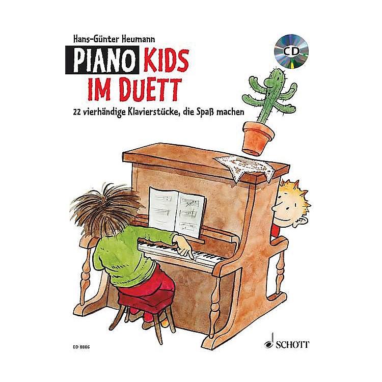 SchottPiano Kids Duet (Fun-making Piano Pieces for Four Hands) Schott Series Written by Hans-Günter Heumann