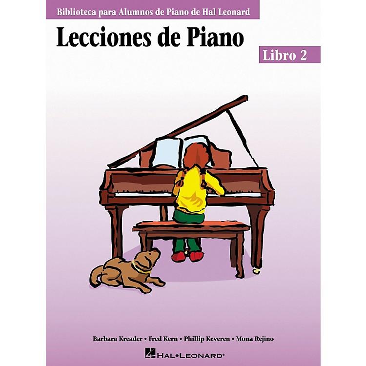 Hal LeonardPiano Lessons Book 2 - Spanish Edition Hal Leonard Student Piano Library