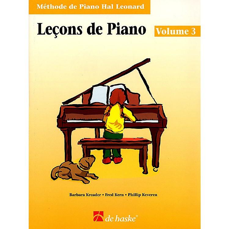 Hal LeonardPiano Lessons Book 3 - French Edition Education Piano Lib French Ed Series Written by Barbara Kreader