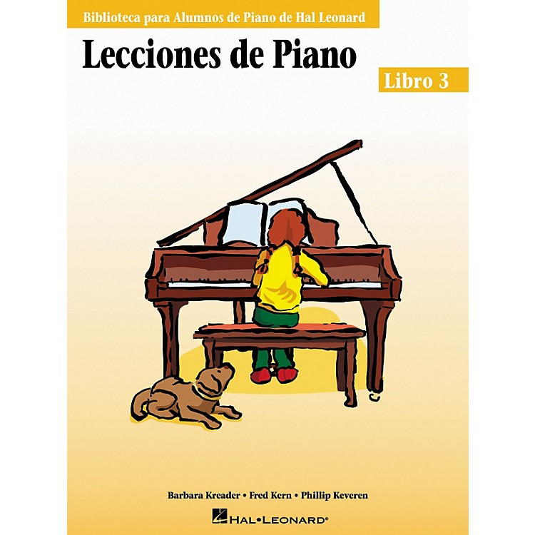 Hal Leonard Piano Lessons Book 3 - Spanish Edition Hal Leonard Student Piano Library