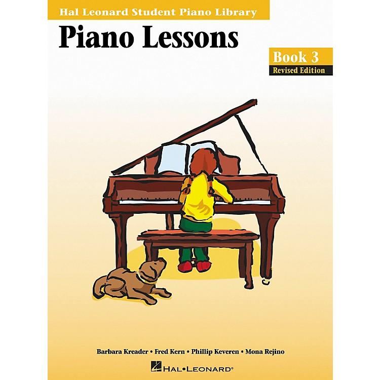 Hal LeonardPiano Lessons Book 3 Hal Leonard Student Piano Library