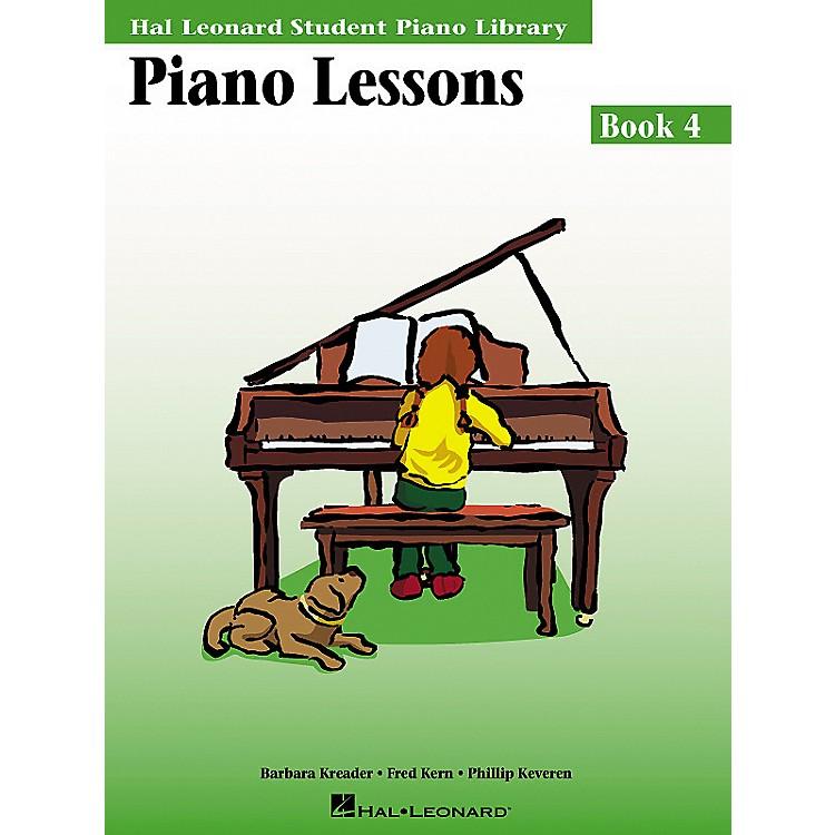 Hal LeonardPiano Lessons Book 4 Hal Leonard Student Piano Library