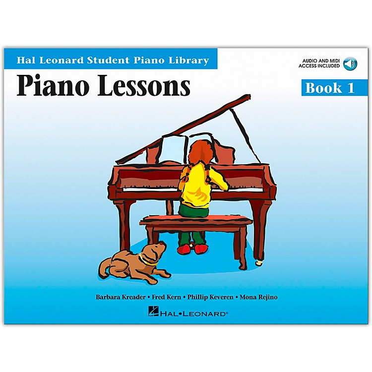 Hal LeonardPiano Lessons Book/Online Audio 1 Book/Online Audio