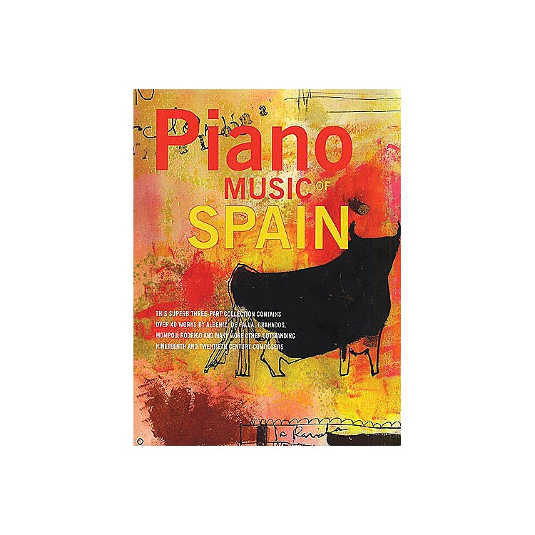 Music Sales Piano Music Of Spain: Volumes One To Three Music Sales America Series