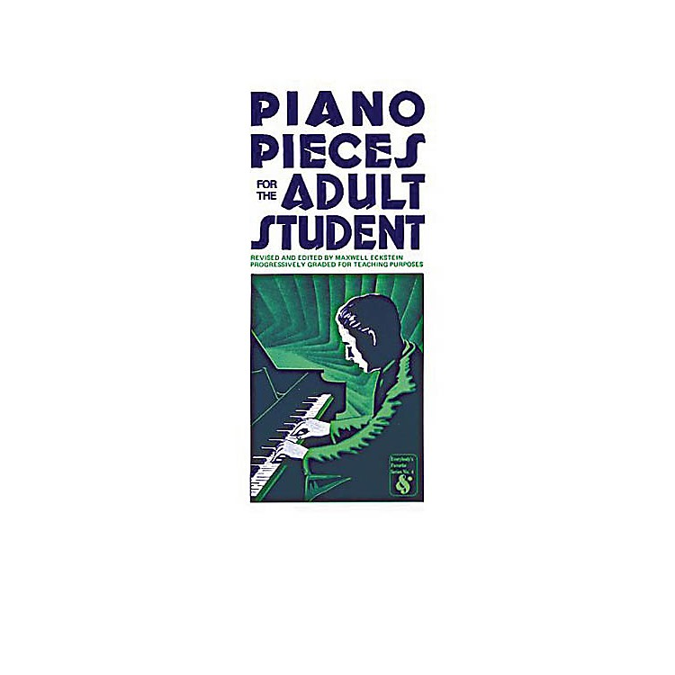 Music SalesPiano Pieces for the Adult Student Music Sales America Series Softcover