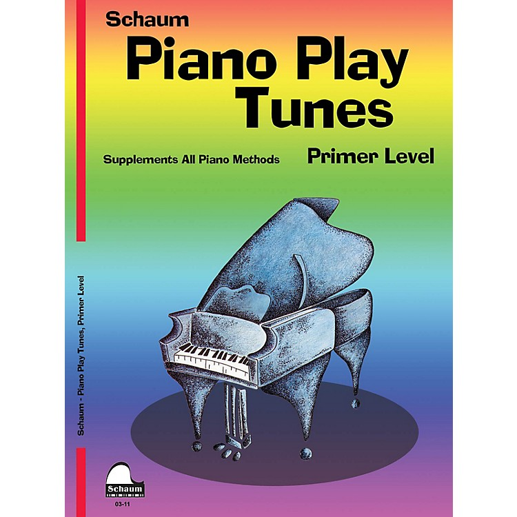 SCHAUM Piano Play Tunes, Primer Educational Piano Series Softcover