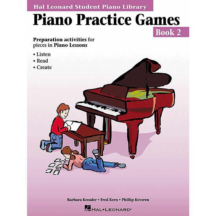 Hal LeonardPiano Practice Games Book 2 Hal Leonard Student Piano Library