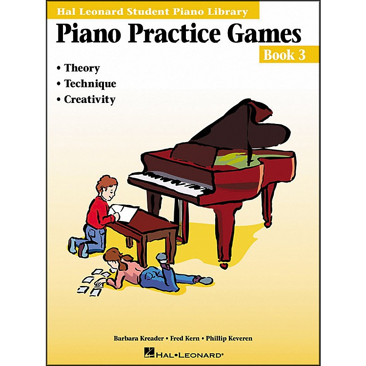 Hal Leonard Piano Practice Games Book 3 Hal Leonard Student Piano Library
