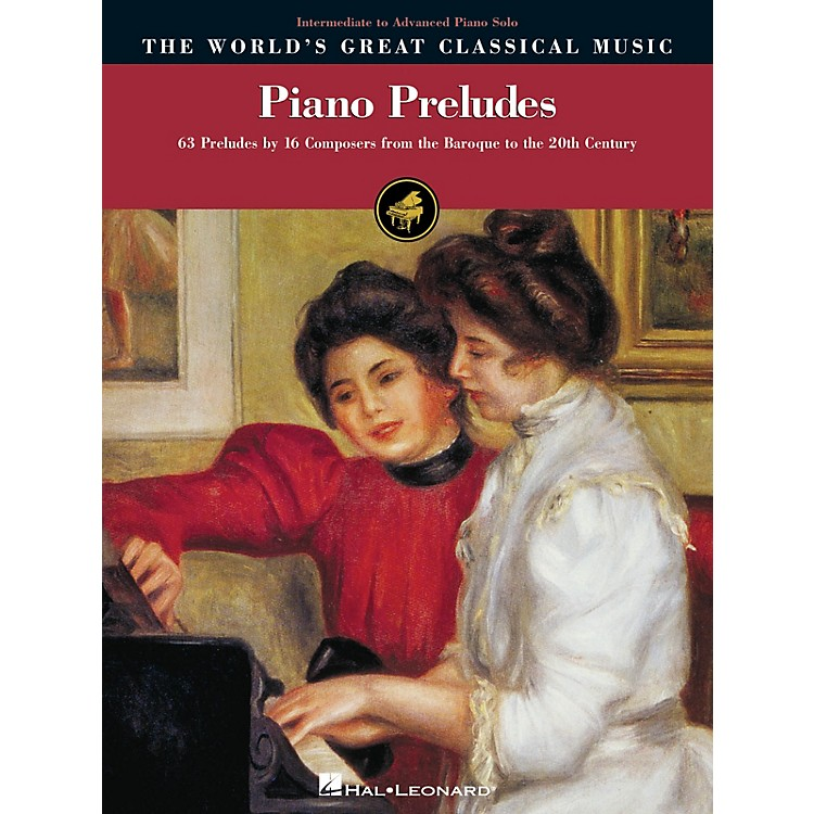 Hal Leonard Piano Preludes World's Greatest Classical Music Series