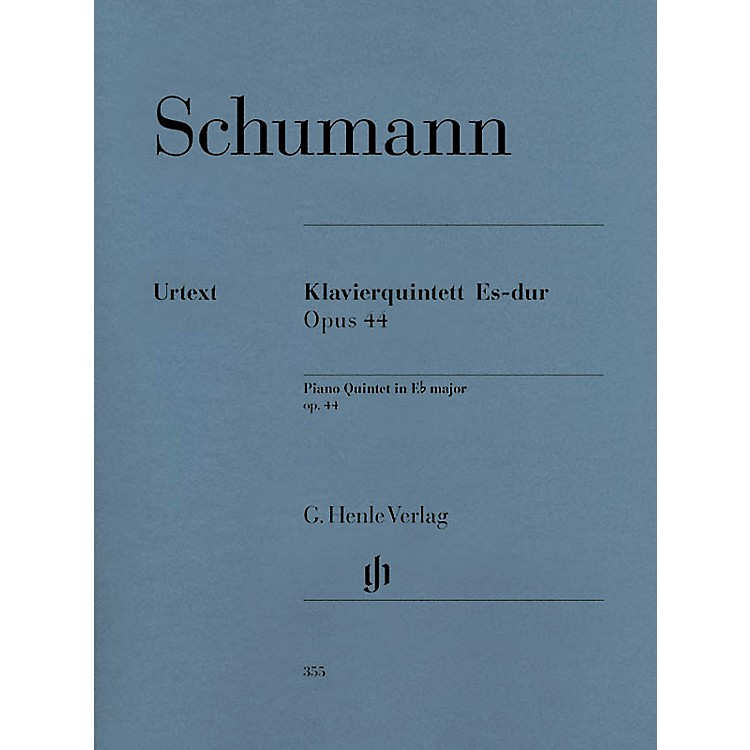 G. Henle VerlagPiano Quintet Eb Major Op. 44 Henle Music Folios Series Softcover Composed by Robert Schumann
