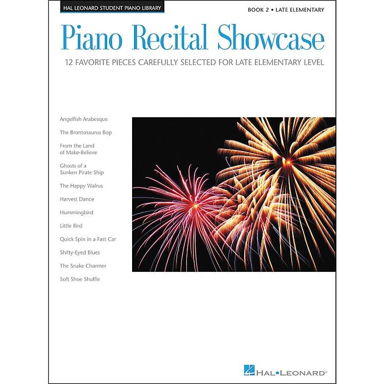 Hal LeonardPiano Recital Showcase Book 2 Late Elementary Hal Leonard Student Piano Library