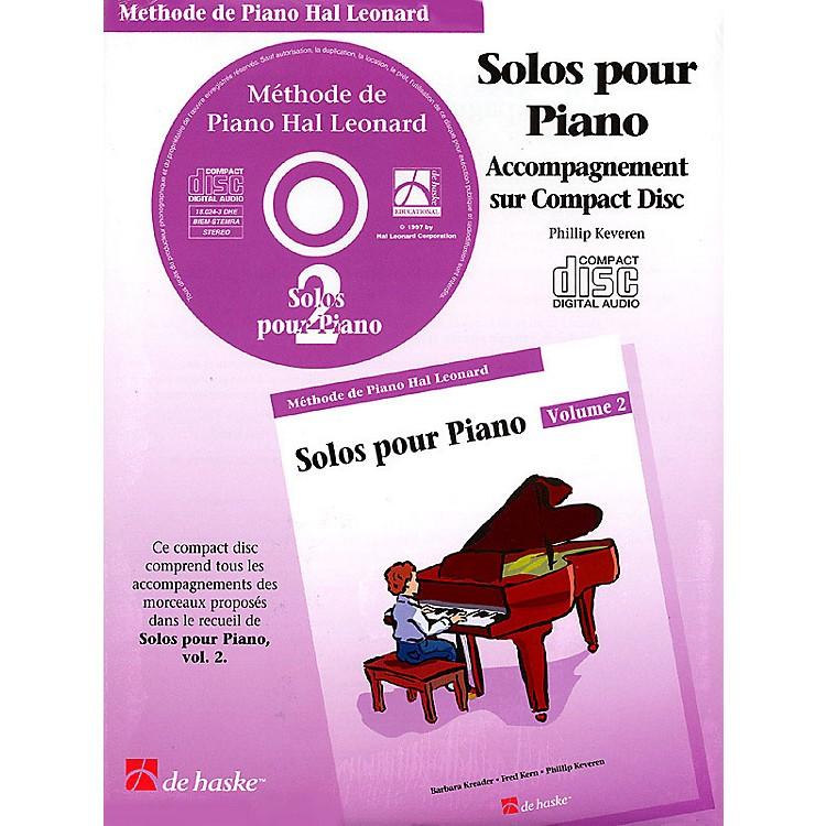 Hal LeonardPiano Solos Book 2 - CD - French Edition Education Piano Lib French Ed Series CD (Book 2)