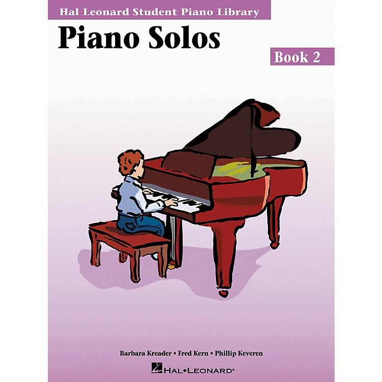 Hal LeonardPiano Solos Book 2 Hal Leonard Student Piano Library