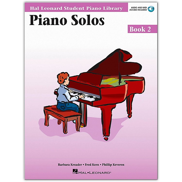 Hal Leonard Piano Solos Book/Online Audio 2 Hal Leonard Student Piano Library Book/Online Audio