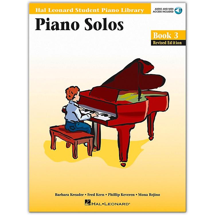 Hal LeonardPiano Solos Book/Online Audio 3 Hal Leonard Student Piano Library Book/Online Audio