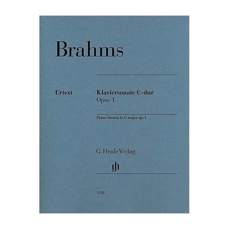 G. Henle VerlagPiano Sonata C Major Op. 1 Henle Music Folios Series Softcover Composed by Johannes Brahms