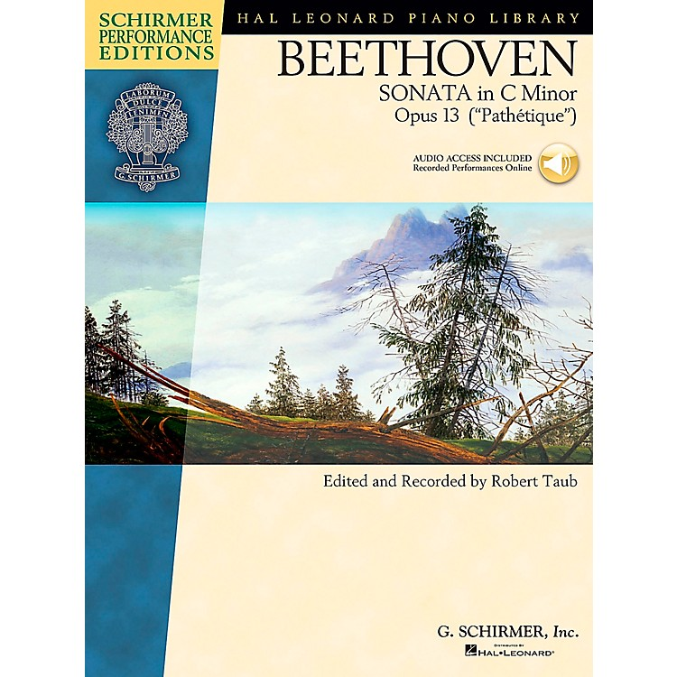 G. SchirmerPiano Sonata In C Minor Opus 13 Book/CD (Pathetique) By Beethoven / Taub