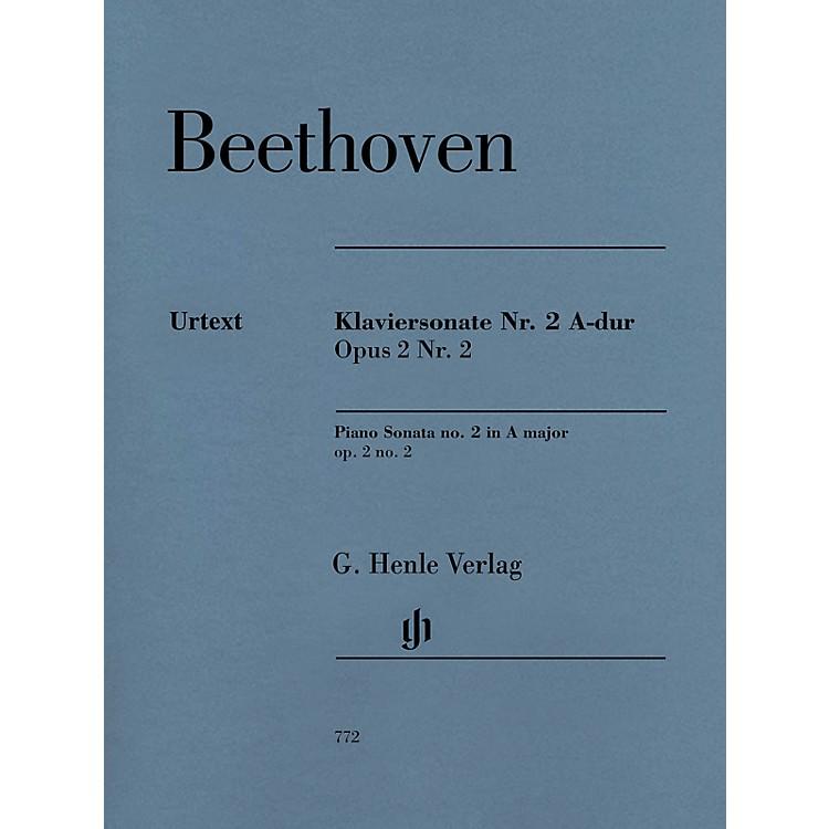 G. Henle VerlagPiano Sonata No. 2 In A Major, Op. 2, No. 2 by Ludwig van Beethoven