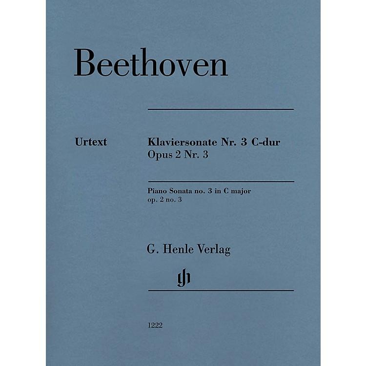G. Henle VerlagPiano Sonata No. 3 C Major (Op. 2 No.3) for Piano Solo - Henle Music