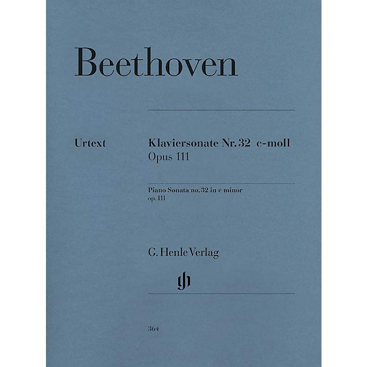 G. Henle VerlagPiano Sonata No. 32 in C minor Op. 111 Henle Music Folios Series Softcover