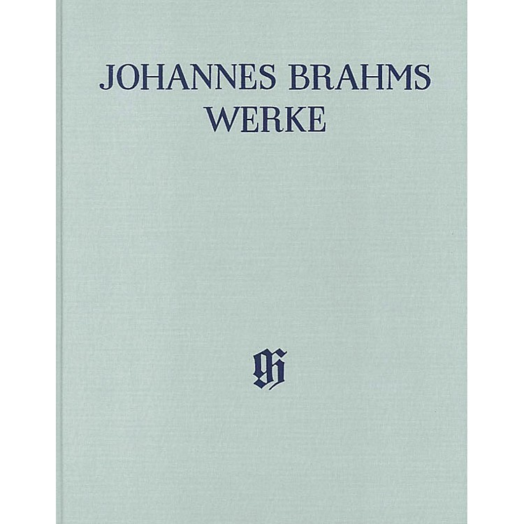 G. Henle VerlagPiano Sonatas Henle Complete Edition Series Hardcover Composed by Johannes Brahms Edited by Katrin Eich