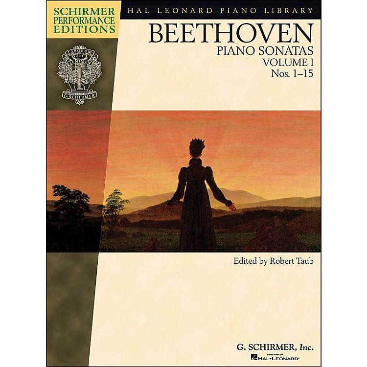 G. SchirmerPiano Sonatas Vol.1 (1 - 15) Schirmer Performance Edition Book Only By Beethoven / Taub
