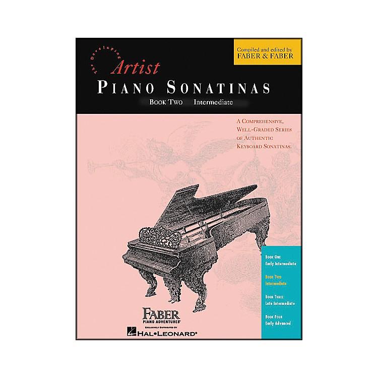 Faber Piano AdventuresPiano Sonatinas Book 2 Intermediate - Faber Piano