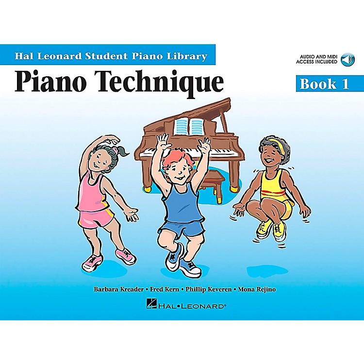 Hal LeonardPiano Technique Book 1 Book/CD Hal Leonard Student Piano Library
