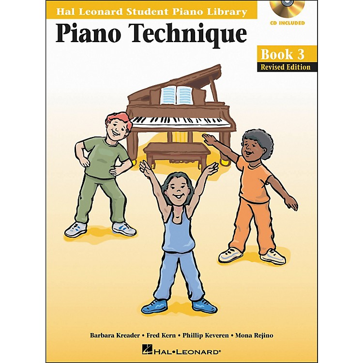 Hal LeonardPiano Technique Book 3 Book/CD Hal Leonard Student Piano Library