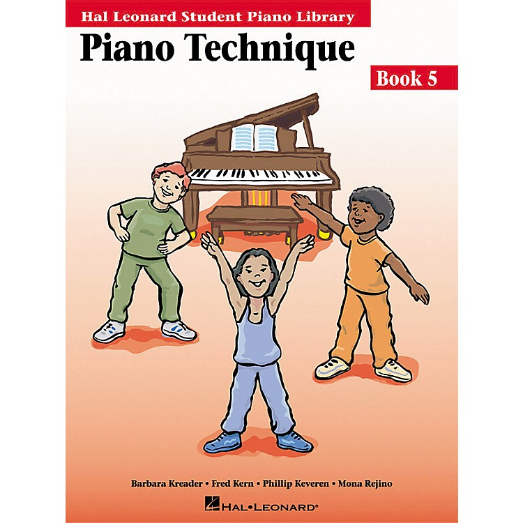 Hal Leonard Piano Technique Book 5 Hal Leonard Student Piano Library