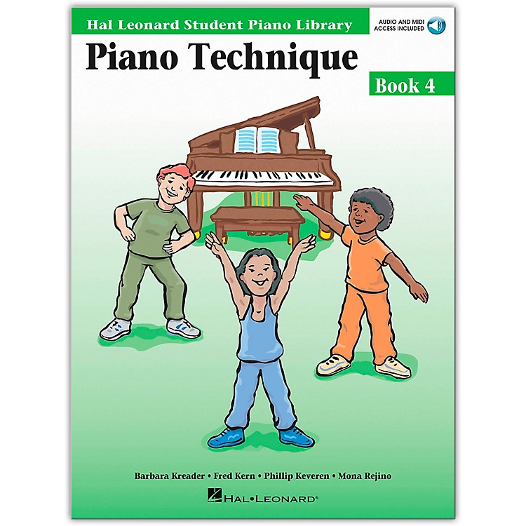 Hal Leonard Piano Technique Book/Online Audio 4 Hal Leonard Student Piano Library Book/Online Audio