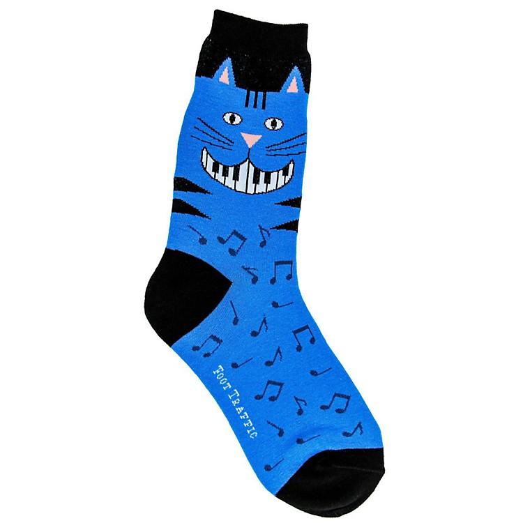 Foot TrafficPiano Teeth Womens Socks