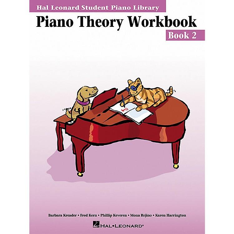 Hal LeonardPiano Theory Workbook 2 Hal Leonard Student Piano Library