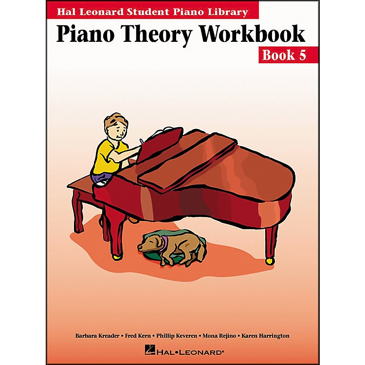 Hal LeonardPiano Theory Workbook 5 Hal Leonard Student Piano Library
