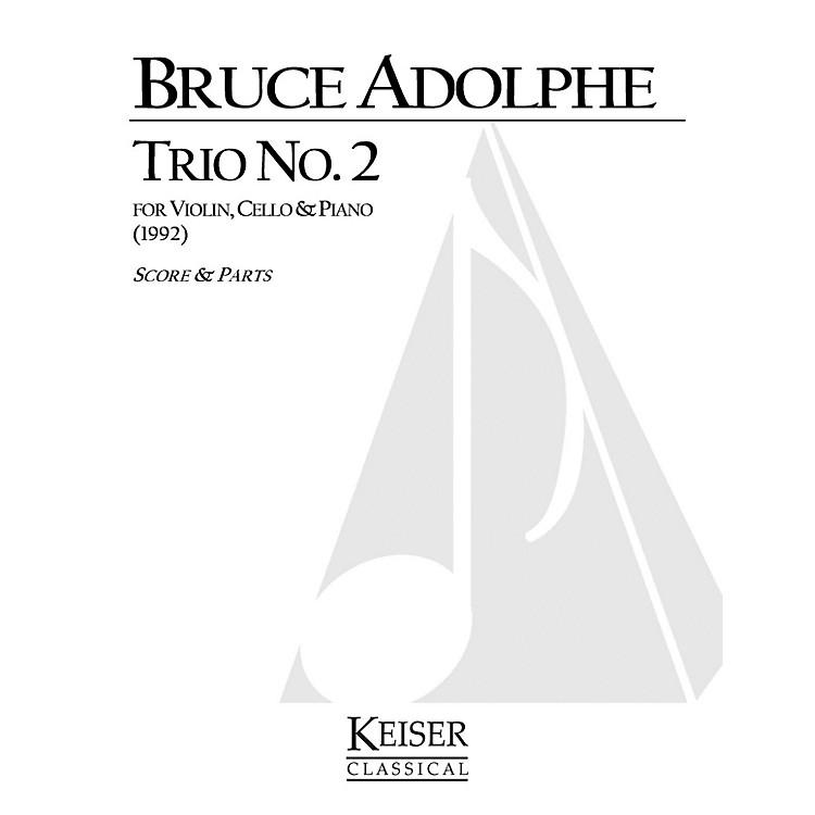 Lauren Keiser Music PublishingPiano Trio No. 2 (Piano, Violin, Cello) LKM Music Series Composed by Bruce Adolphe