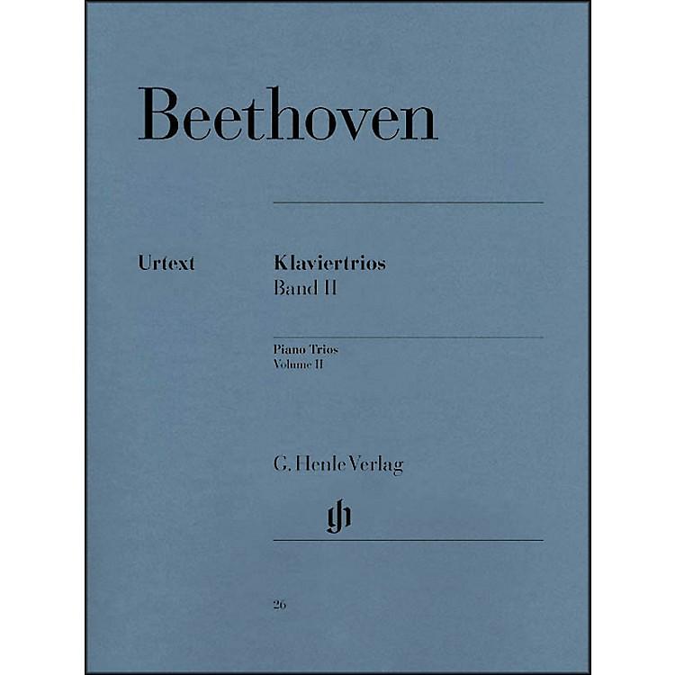 G. Henle VerlagPiano Trios - Volume II By Beethoven